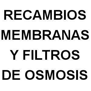 Membranas y filtros de Osmosis