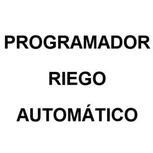 Programador Riego Automatico